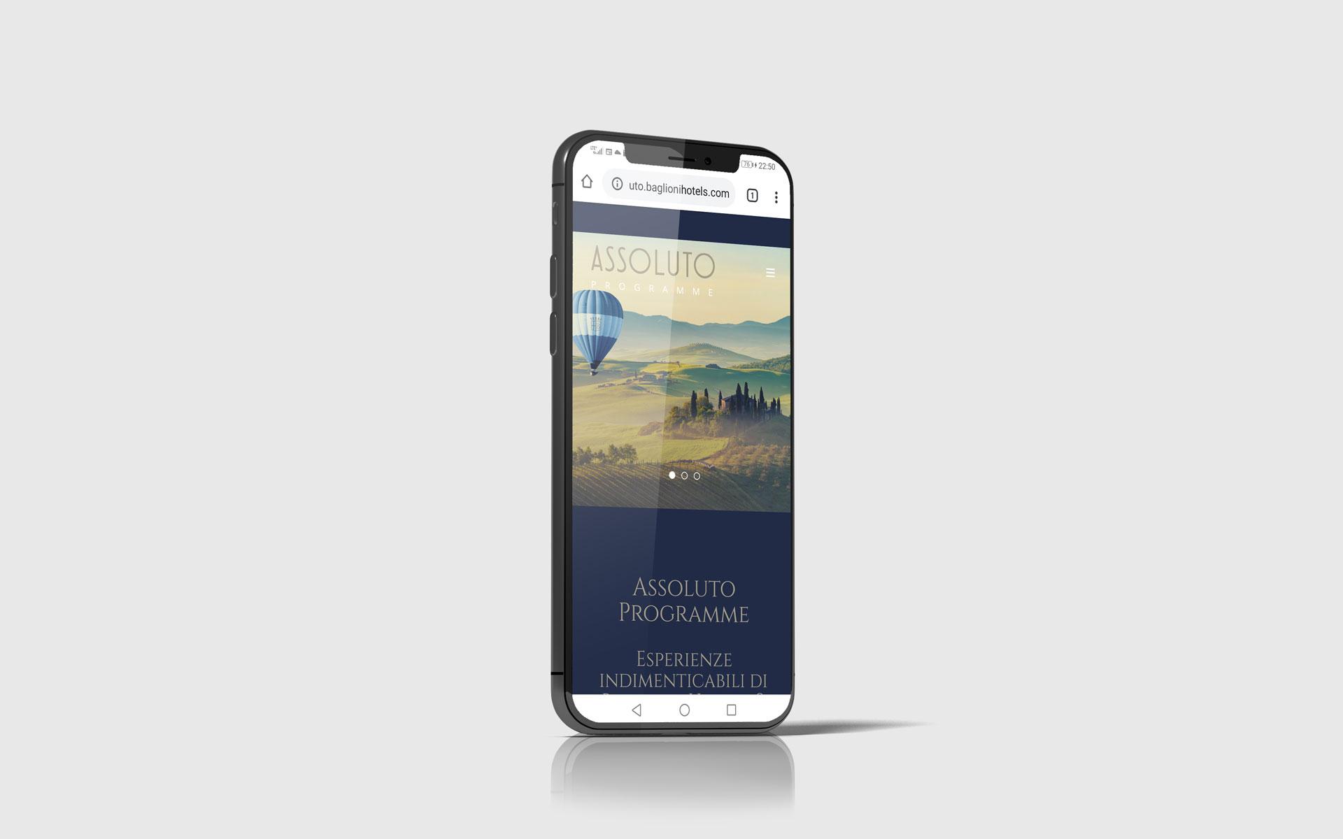 Assoluto Baglioni Hotels mobile