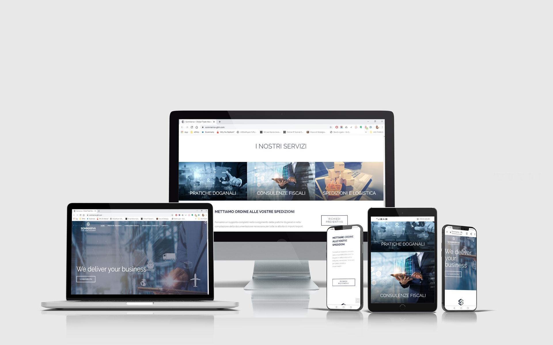 Realizzazione siti web - Sommariva GTM