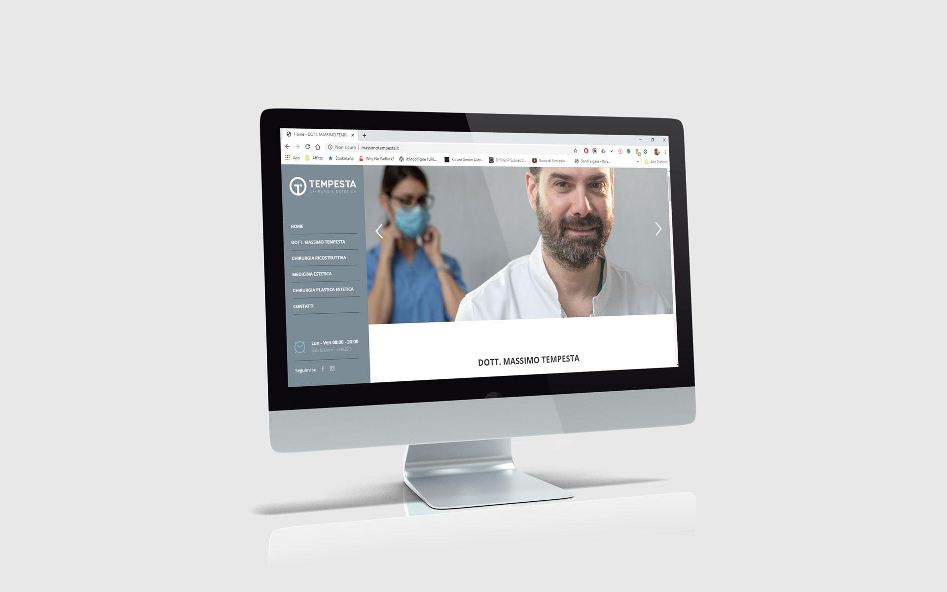 Realizzazione siti web - Dott. Massimo Tempesta