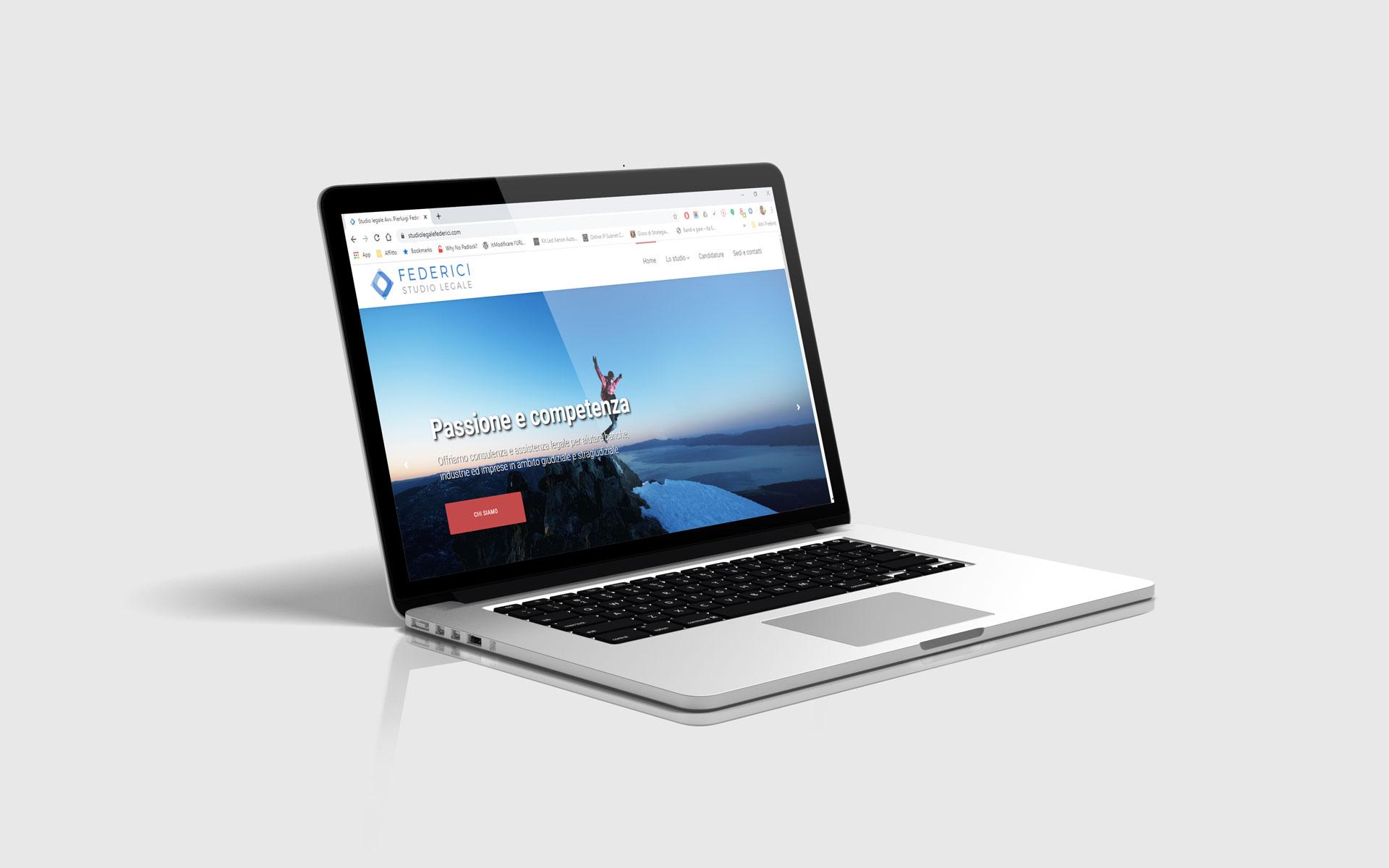 Realizzazione siti web - Studio Legale Federici