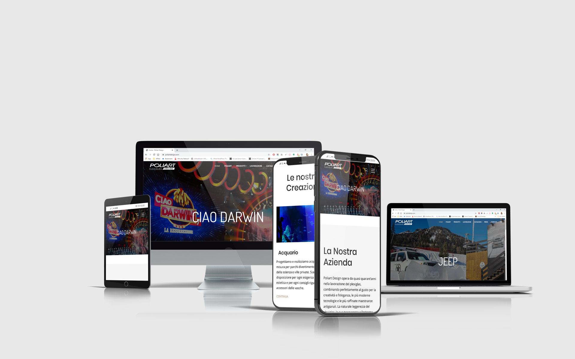 Realizzazione siti web - Poliart-Design_devices
